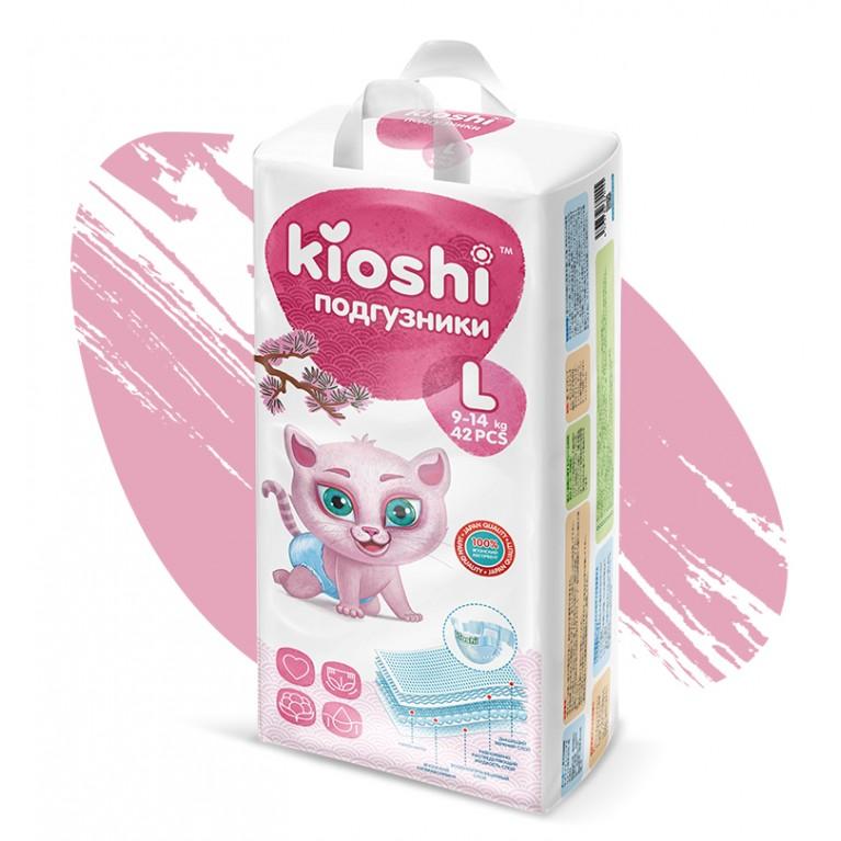 Подгузники Kioshi (L)