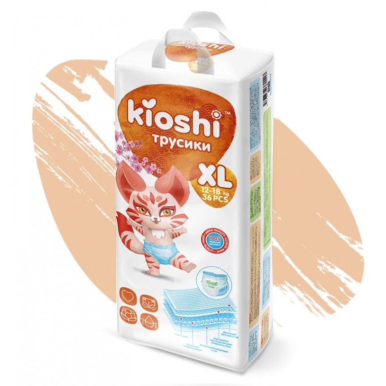 Подгузники-трусики Kioshi (XL)